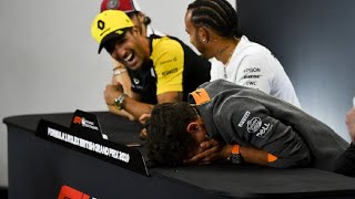 F1 FUNNIEST moments EVER in press conferences COMPILATION! PART 4!