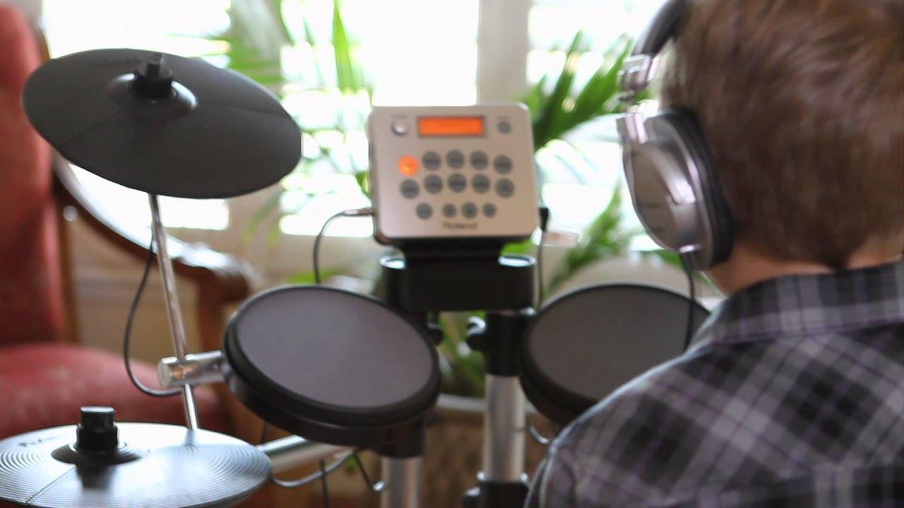 roland hd 3 v drums lite overview youtube. Black Bedroom Furniture Sets. Home Design Ideas