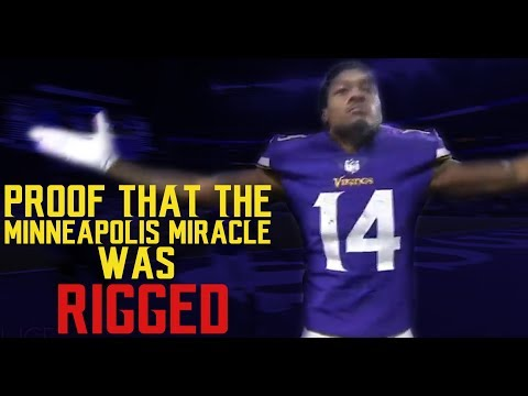 UNDISPUTED proof that the Minneapolis Miracle was RIGGED!