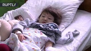طفلة روسية نجت بأعجوبة في تحطم طائرة ركاب