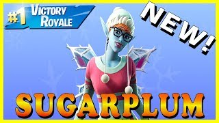 "NEW ""SUGARPLUM"" SKIN in FORTNITE - NEW ""BOOM BOX"" ITEM // Playing With SUBSCRIBERS"