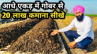 Download डेढ़ लाख की नौकरी छोड़ कमा रहा गोबर से लाखों| How to Make Vermi Compost| Business idea
