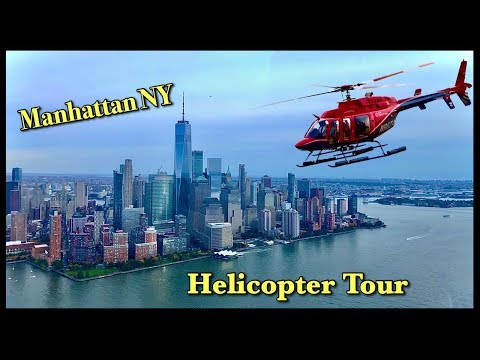 Manhattan New York City Helicopter Ride Start To End