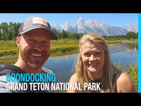 SECRET BOONDOCKING IN GRAND TETON NATIONAL PARK (RV AMERICA)