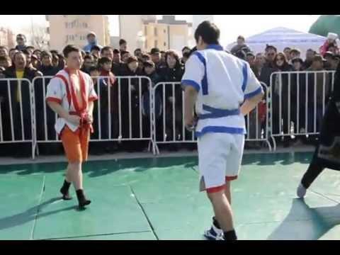 Kazakh Wrestling- Nauryz 2013
