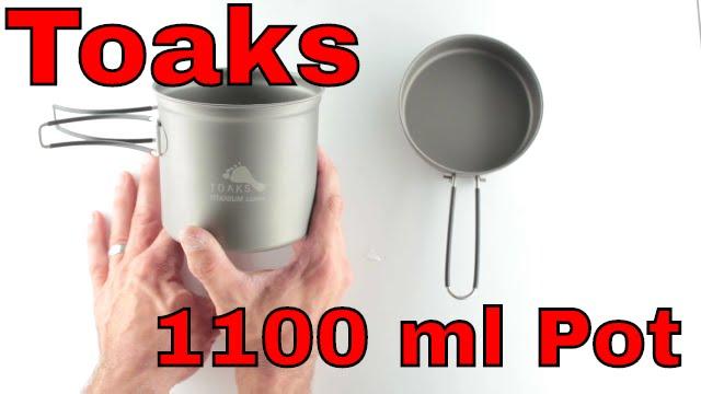 TOAKS Titanium Frying Pan