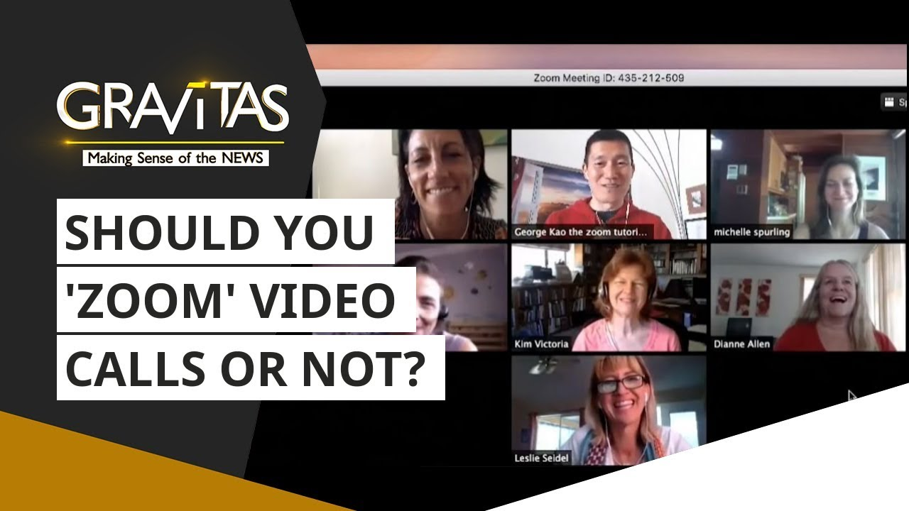 Gravitas: Video-calling app 'ZOOM' admits to routing calls via China | Video Calling App News - WION