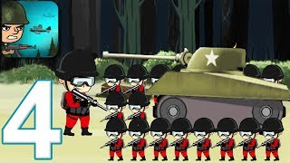 WAR TROOPS - Walkthrough Gameplay Part 4 - M4 SHERMAN (Android Games)
