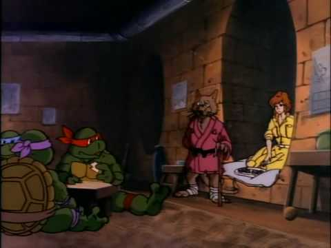 TMNT(1987): Turtle Tracks [part 1]
