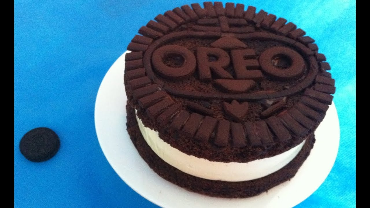 How To Make A Cake Out Of Oreos