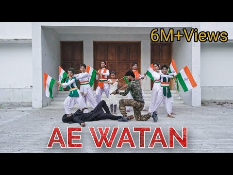 Ae Watan || Independence Day special || Dance Cover || By L.D.T || Rockfarm Records