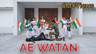 Ae Watan    Independence Day special    Dance Cover    By L.D.T    Rockfarm Records