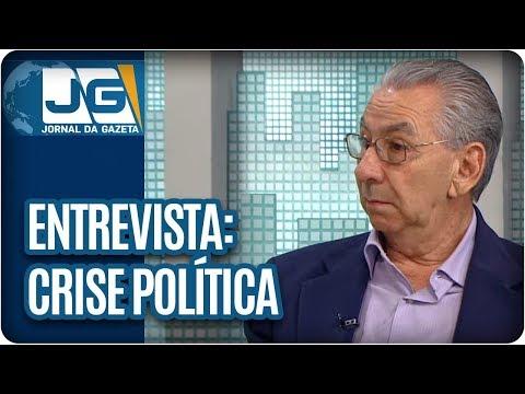 Maria Lydia entrevista o deputado federal Silvio Torres, sec. Geral do PSDB, sobre a crise política
