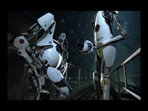 Portal 2 Co-op Ending with ending song