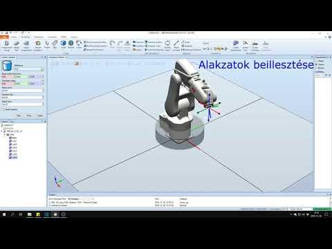 ABB RobotStudio alap szimulációs eszközök