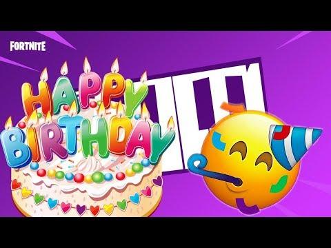 Happy Birthday Fortnite MUSIC BLOCK ! ... ( Fortnite Creative Mode )