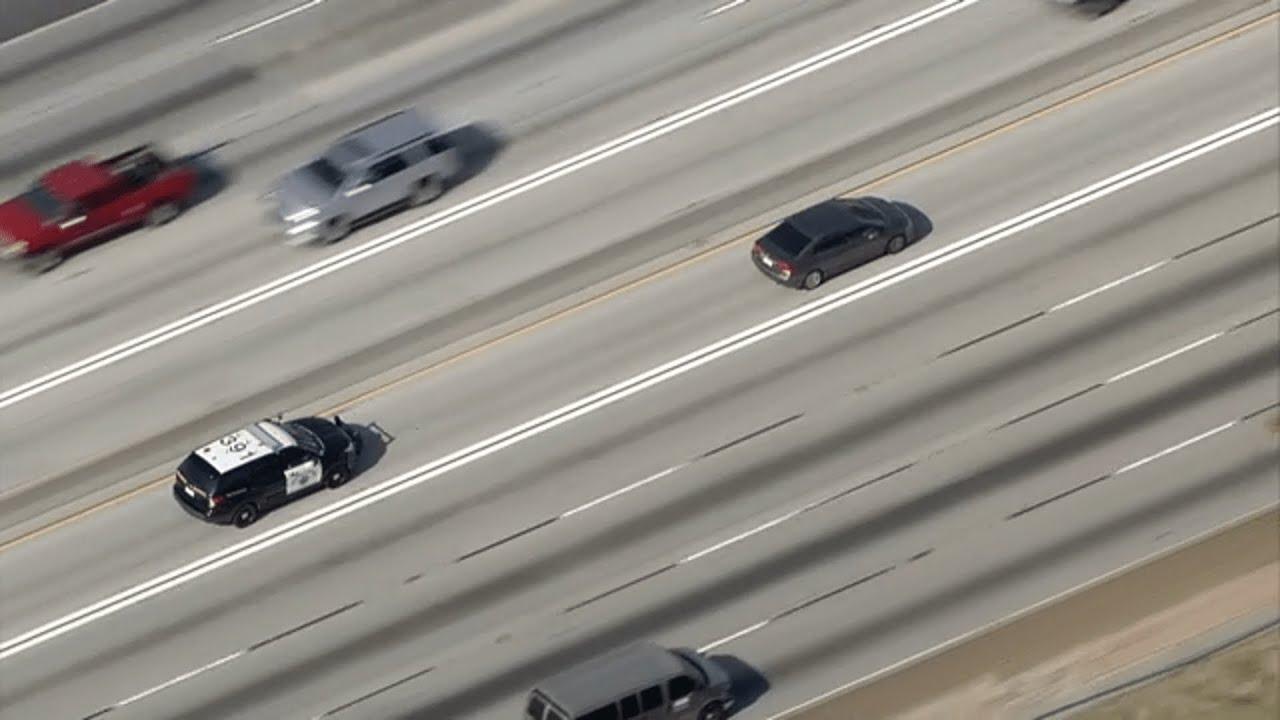 LIVE: CHP pursuit through LA County I ABC7