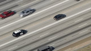 Live: Chp Pursuit Through La County I Abc7
