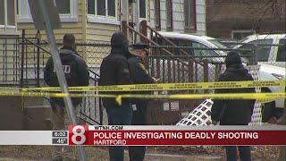 Man dies after being shot in Hartford