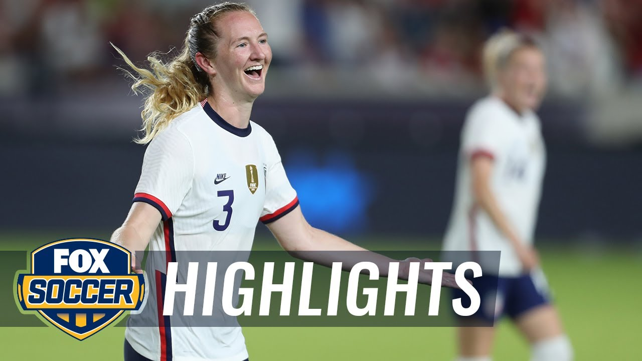 USWNT edge Portugal 1-0 as the USA struggle to put the ball in the net   FOX SOCCER HIGHLIGHTS