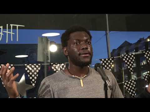 Selassie Drah Edmonton Breath in Poetry October 4 2017 at The Nook Cafe