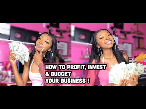 HOW TO PROFIT AND INVEST IN YOUR BUSINESS ! GET YOUR COINS ALL 2019 ! | Ft West Kiss Hair