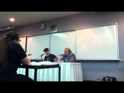 Windsor Christmas Comic Con Panel: Chad Rook