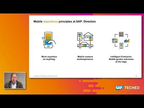 SAP's UX Mobile Strategy Realized with SAP Cloud Platform | SAP TechEd in 2020