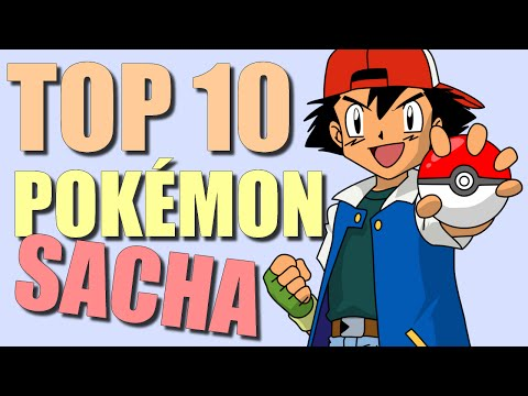 TOP 10 ANIME POKÉMON DE SACHA