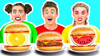 BURGERS CHALLENGE by Ideas 4 Fun