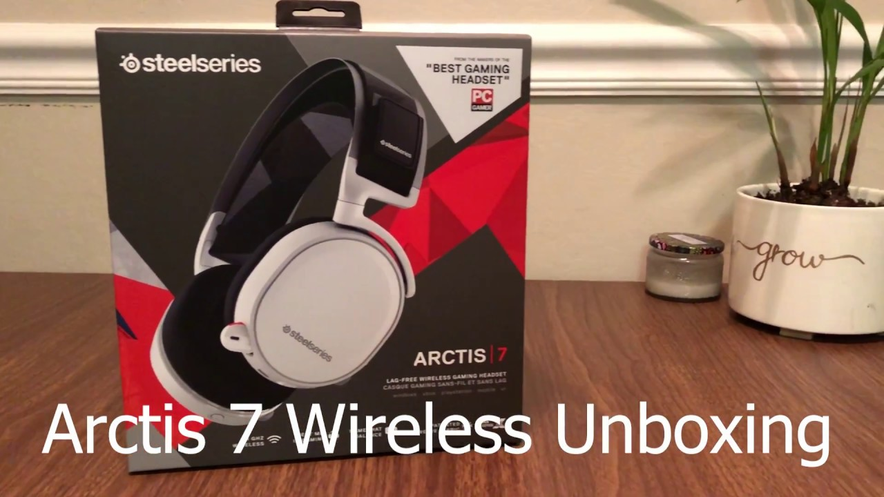 f6836c3641a Steelseries Arctis 7 Unboxing and Impressions - YouTube