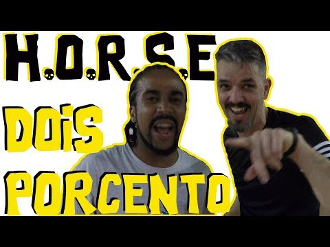 THE BEST BASKETBALL HORSE EVER - HORSE #3 feat. DOIS POR CENTO - 동영상