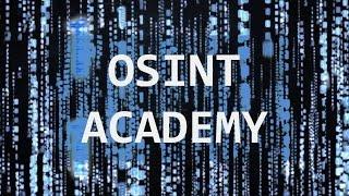 OSINT Academy - Урок 10. Пошук в Єдиному державному реєстрі фізичних і юридичних осіб