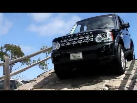 Land Rover LR On The Dealership Rock CourseOff Road Articulation - Land rover discovery dealer