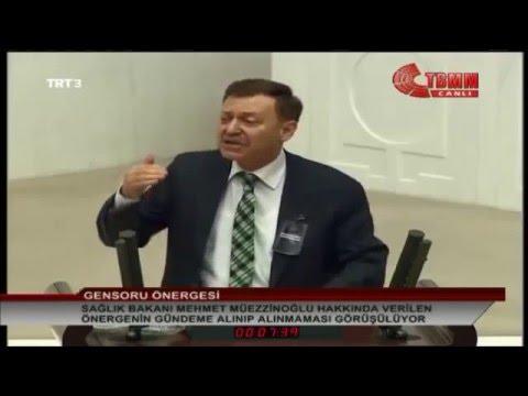 Aytuğ Atıcı, Sağlık Bakanı Hakkındaki Gensoru Üzerine CHP Grubu Adına Konuştu