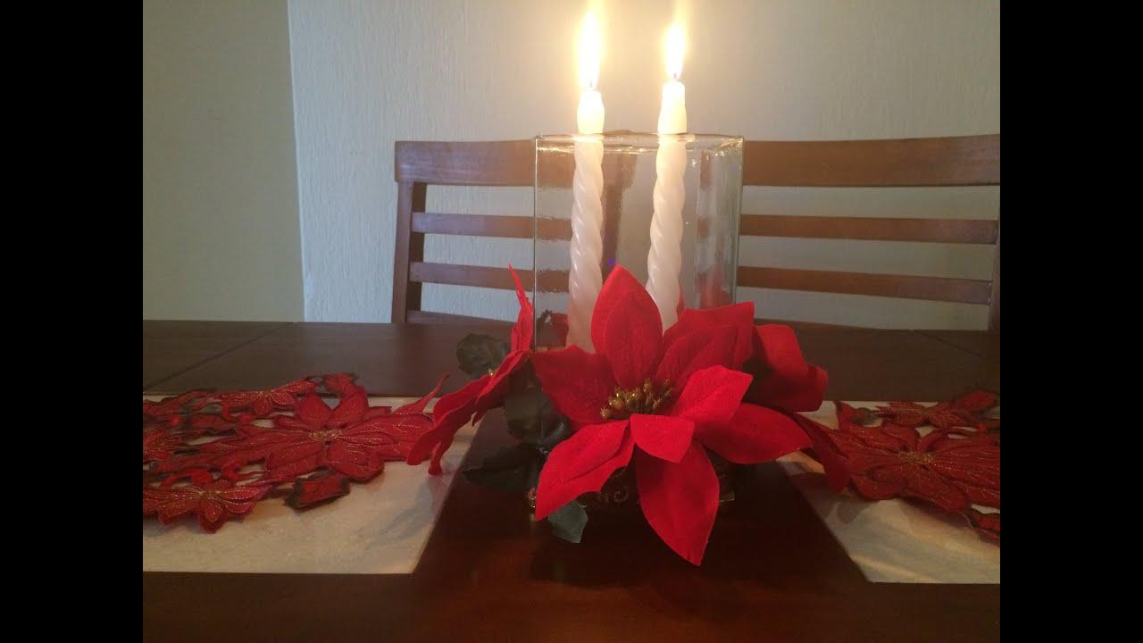 Diy centro de mesa navide o youtube - Youtube centros de mesa navidenos ...
