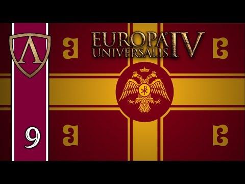 Let's Play Europa Universalis IV -- Byzantium -- Justinian's Legacy -- Part 9