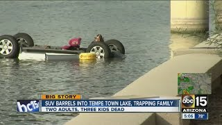Family of 5 drowns, dies at Tempe Town Lake