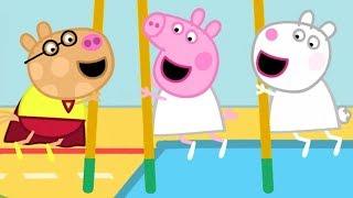 Sportstunde mit Superheld Pedro! 🌟 Cartoons für Kinder | Peppa Wutz Neue Folgen