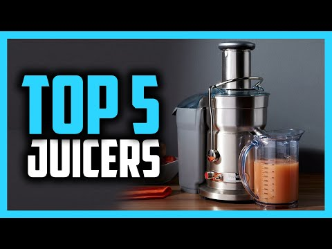 Best Juicers in 2020 [Top 5 Masticating, Centrifugal & Budget Picks]