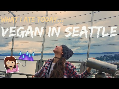 What I Ate Today [Kinda WSLF + Vegan DONUTS] | Seattle Edition