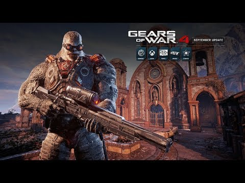 Gears of War 4 Official September Update Trailer