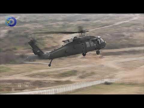 Συνεκπαίδευση της Αεροπορίας Στρατού με την 3rd Cab από τις ΗΠΑ - Πεδίο Βολής Λιτοχώρου 19/2/2020
