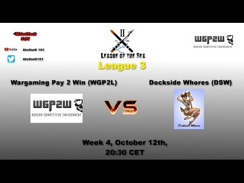 WGP2L vs DSW League 3 with interview afterwards (English)