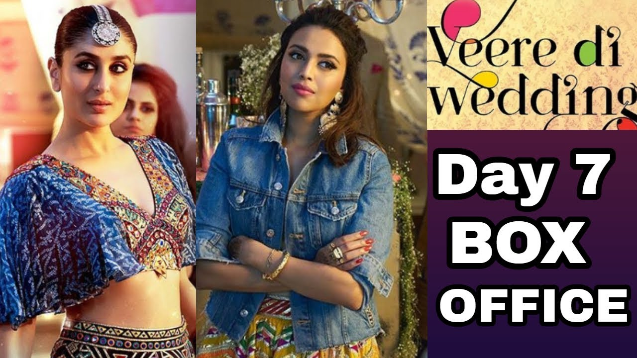 Veere Di Wedding Box Office.Veere Di Wedding 7th Day Box Office Collection Raazi Parmanu