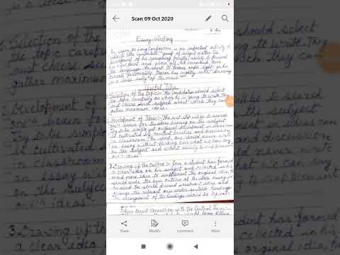 Descriptive writing essays ideas