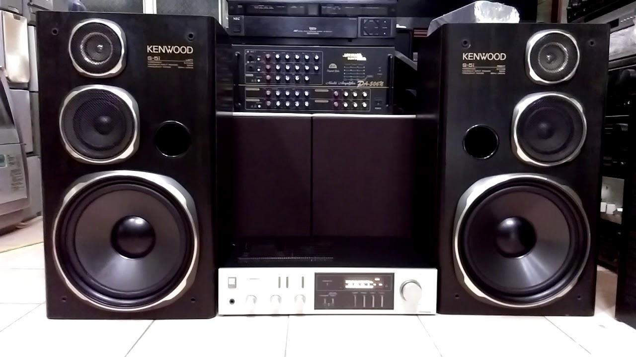 ( Đã bán ) Ampli Pioneer SA-7000 + Loa Kenwood 5i = PHÊ !
