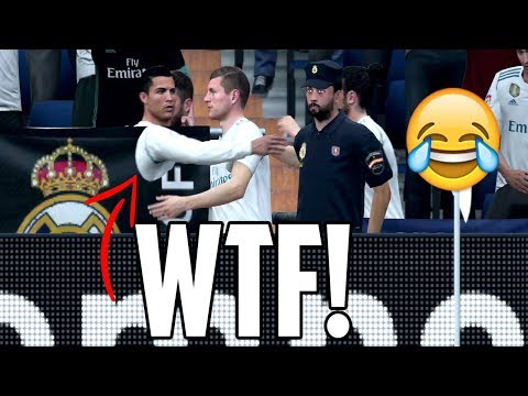 FIFA 18 Is BROKEN! - Funny Ghost Glitch