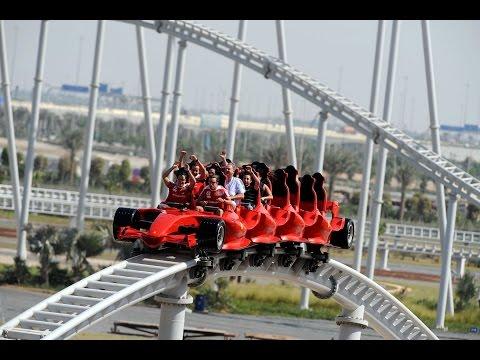 Дубай Феррари Парк Dubai Ferrari World Абу Даби (1080р HD)