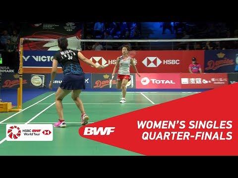 QF | WS | Nozomi OKUHARA (JPN) [8] vs Saina NEHWAL (IND) | BWF 2018